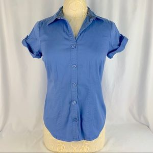 Van Heusen * Button Down Blouse